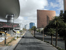 Las Vegas Boulevard by the Fashion Show Mall Royalty Free Stock Photography