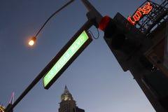 Las Vegas Boulevard Signage Royalty Free Stock Photography