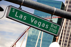 Las Vegas Boulevard Royalty Free Stock Photo