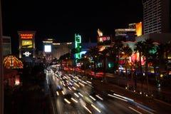 Las Vegas Boulevard. The Strip, in Las Vegas, Nevada Stock Image
