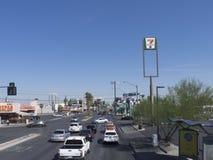 Las Vegas Boulevard Las Vegas, USA Arkivbilder