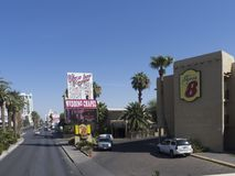 Las Vegas Boulevard Las Vegas, USA Arkivfoto