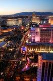 Las Vegas Boulevarde Las Vegas Nevada Photographie stock