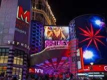 Las Vegas, britney dzidy Zdjęcie Stock