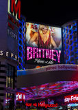 Las Vegas , britney Spears Stock Photo