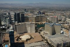 Las Vegas byggnad Arkivfoton