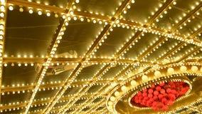 Las Vegas Casino Lights stock footage