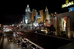 Las Vegas Casinos Royalty Free Stock Images