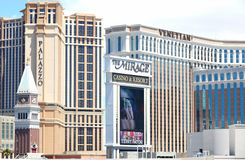 Las Vegas casinos Stock Images