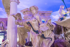 Las Vegas , Ceasars Palace. LAS VEGAS - OCT 15 : The Ceasars Palace interior on October 15, 2015 in Las Vegas. Caesars Palace is a luxury hotel and casino stock images