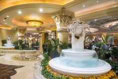 Las Vegas Ceasars slott Arkivbild