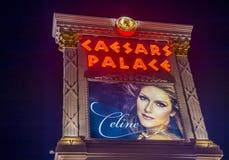 Las Vegas, Celine Dion stock afbeeldingen