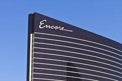 Las Vegas - cerca do julho de 2016: Encore em Wynn Las Vegas na tira, irmã Resort de Wynn Las Vegas mim Imagens de Stock Royalty Free