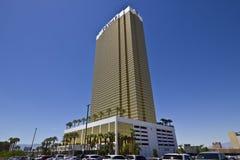 Las Vegas - cerca do julho de 2016: Hotel Las Vegas do trunfo Nomeado para o colaborador de bens imobiliários Donald Trump III Imagens de Stock Royalty Free