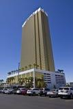 Las Vegas - cerca do julho de 2016: Hotel Las Vegas do trunfo Nomeado para o colaborador de bens imobiliários Donald Trump IV Foto de Stock Royalty Free
