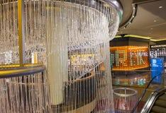 Las Vegas , Chandelier Bar royalty free stock photos