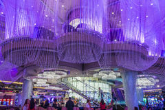 Las Vegas , Chandelier Bar Stock Photo