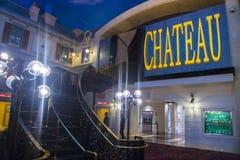 Las Vegas Chateaunattklubb Royaltyfria Bilder
