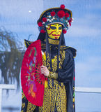 Las Vegas, Chiński nowy rok Zdjęcia Royalty Free