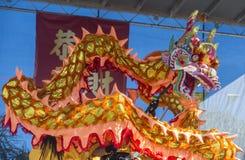 Las Vegas, Chiński nowy rok Fotografia Stock