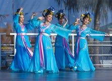 Las Vegas, Chiński nowy rok Obrazy Royalty Free