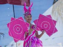Las Vegas, Chiński nowy rok Zdjęcia Stock