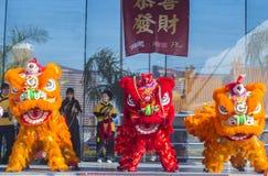 Las Vegas, Chiński nowy rok Obraz Stock