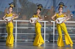 Las Vegas, Chiński nowy rok Zdjęcie Royalty Free