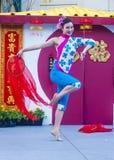 Las Vegas, Chiński nowy rok Obraz Royalty Free