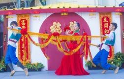 Las Vegas, Chinees Nieuw jaar Stock Afbeeldingen