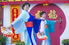 Las Vegas, Chinees Nieuw jaar Royalty-vrije Stock Foto's