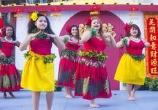Las Vegas, Chinees Nieuw jaar Stock Fotografie