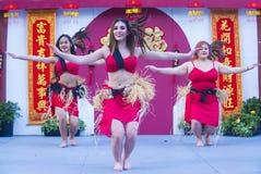Las Vegas, Chinees Nieuw jaar Stock Foto's