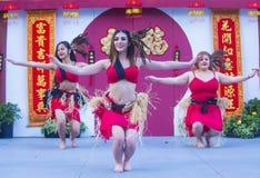 Las Vegas, Chinees Nieuw jaar Stock Afbeelding