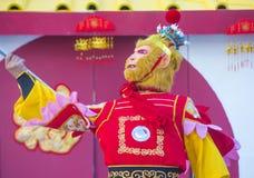 Las Vegas, chinesisches neues Jahr Stockbilder