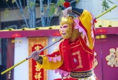 Las Vegas, chinesisches neues Jahr Stockfotografie