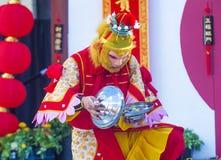 Las Vegas, chinesisches neues Jahr Stockfotos