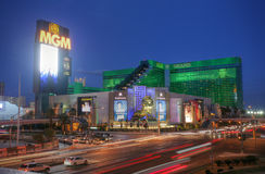 LAS VEGAS - CIRCA 2014: MGM Grand Hotel & Casino on CIRCA 2014 i Royalty Free Stock Photography