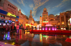 LAS VEGAS - CIRCA 2014: Miracle Mile Shops in Planet Hollywood h Royalty Free Stock Image