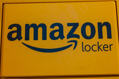 Las Vegas - Circa December 2016: Amazon Locker Location. Amazon Locker is a self-service delivery service offered by Amazon IV Royalty Free Stock Images