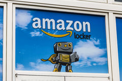 Las Vegas - Circa December 2016: Amazon Locker Location. Amazon Locker is a self-service delivery service offered by Amazon V Royalty Free Stock Image