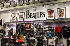Las Vegas - Circa December 2016: The Beatles Shop at The Mirage. This is the only licensed Beatles retail store II. The Beatles Shop at The Mirage. This is the Stock Photos