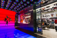 Las Vegas - Circa December 2016: The Beatles Shop at The Mirage. This is the only licensed Beatles retail store IV. The Beatles Shop at The Mirage. This is the Royalty Free Stock Image