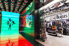 Las Vegas - Circa December 2016: The Beatles Shop at The Mirage. This is the only licensed Beatles retail store V. The Beatles Shop at The Mirage. This is the Stock Photography