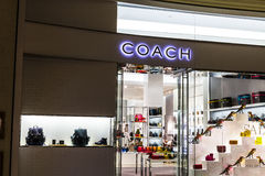 Las Vegas - Circa December 2016: Coach Retail Mall Location. Coach is an luxury fashion company based in New York I Royalty Free Stock Image