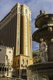 Las Vegas - Circa December 2016: Den Venetian kasinot för semesterorthotell Det Venetian ägas, och fungerings av Las Vegas sandpa Royaltyfri Bild