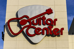 Las Vegas - Circa December 2016: Guitar Center Mall Location. Guitar Center is the largest chain of musical retailers I. Guitar Center Mall Location. Guitar Royalty Free Stock Image