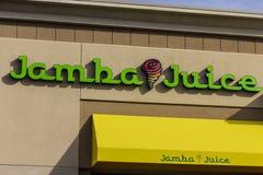 Las Vegas - Circa December 2016: Jamba Juice Restaurant Het Jambasap is een belangrijke maker van natuurlijke smoothies I royalty-vrije stock fotografie
