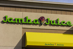 Las Vegas - Circa December 2016: Jamba Juice Restaurant. Jamba Juice is a leading maker of natural smoothies I. Jamba Juice Restaurant. Jamba Juice is a leading royalty free stock photography