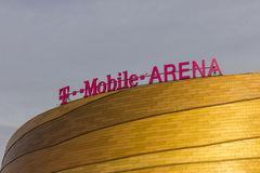 Las Vegas - Circa December 2016: The T-Mobile Arena Located on the Strip II royalty free stock photos